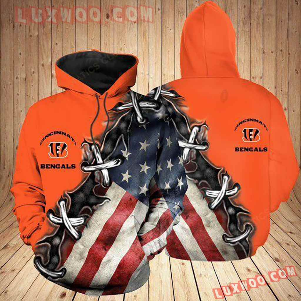 Nfl Cincinnati Bengals Ccbg Hoodie All Over Print Apparel For Ccbg3d02120620