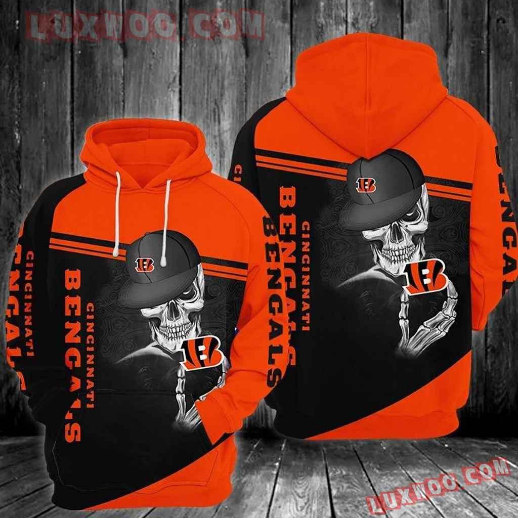 Nfl Cincinnati Bengals Graphic Design Tee Photo 3d Hoodie 003