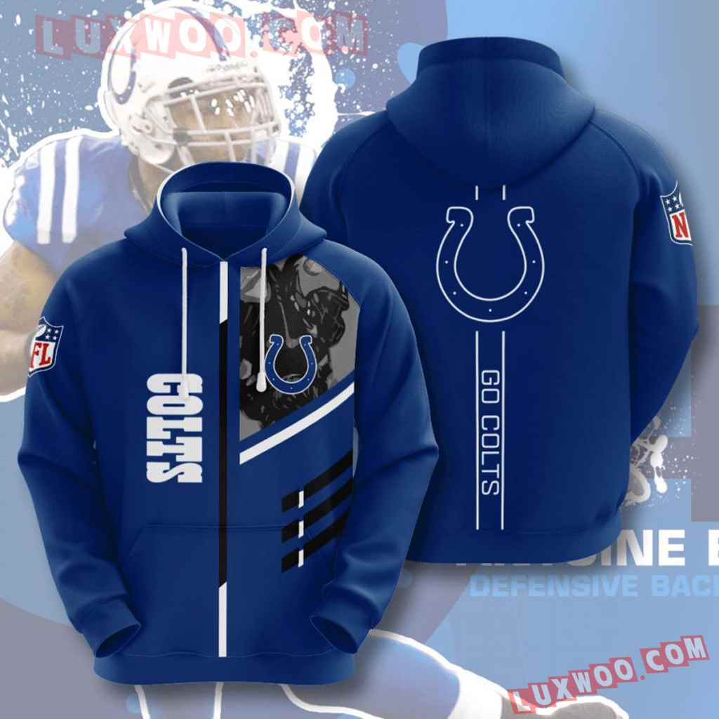Nfl Indianapolis Colts 3d Hoodie For Men For Women All Over Printed Hoodie 1