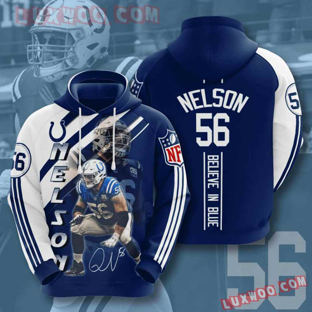 Nfl Indianapolis Colts 3d Hoodie For Men For Women All Over Printed Hoodie 14