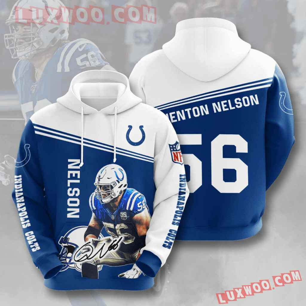 Nfl Indianapolis Colts 3d Hoodie For Men For Women All Over Printed Hoodie 8