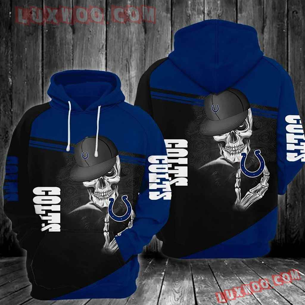 Nfl Indianapolis Colts Graphic Design Tee Photo 3d Hoodie 003
