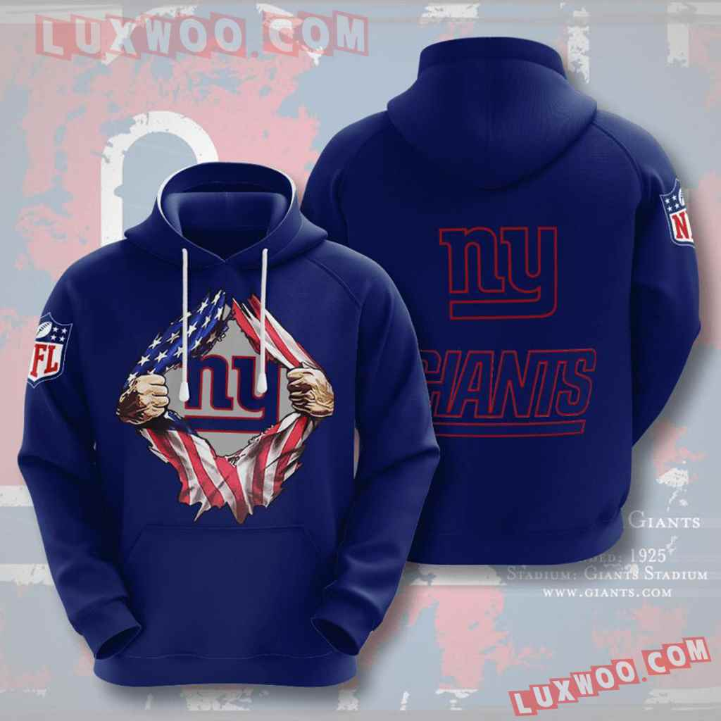 Nfl New York Giants 3d Hoodie For Men For Women All Over Printed Hoodie 15