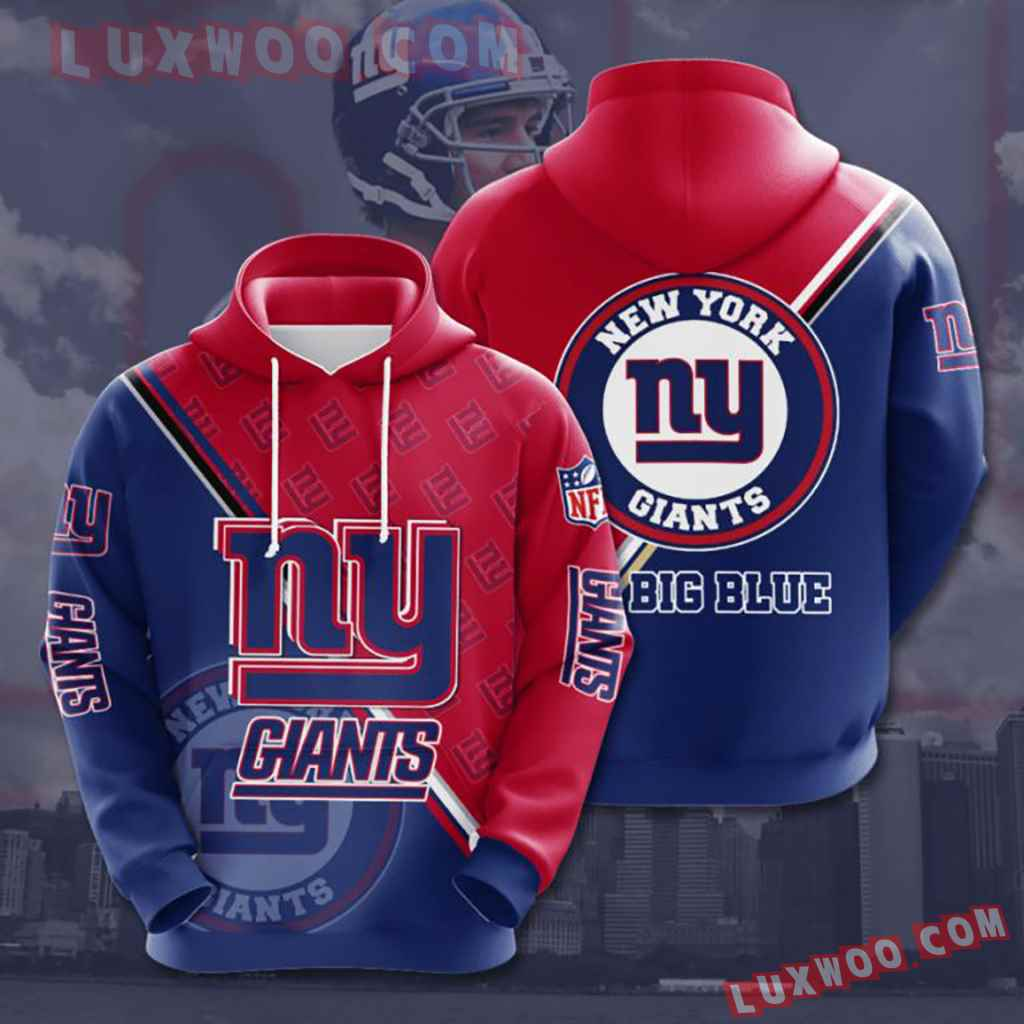 Nfl New York Giants 3d Hoodie For Men For Women All Over Printed Hoodie 6