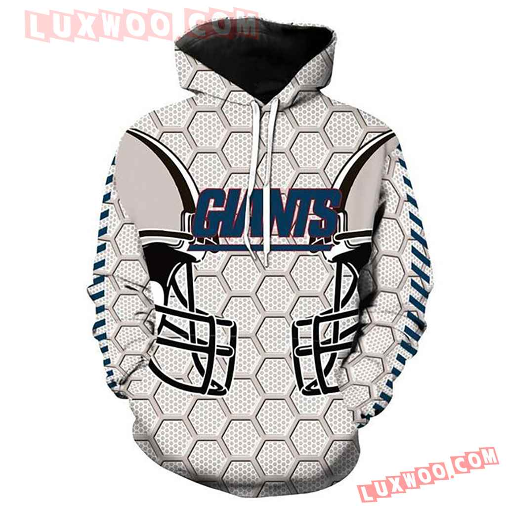 Nfl New York Giants 3d Hoodie For Men For Women All Over Printed Hoodie