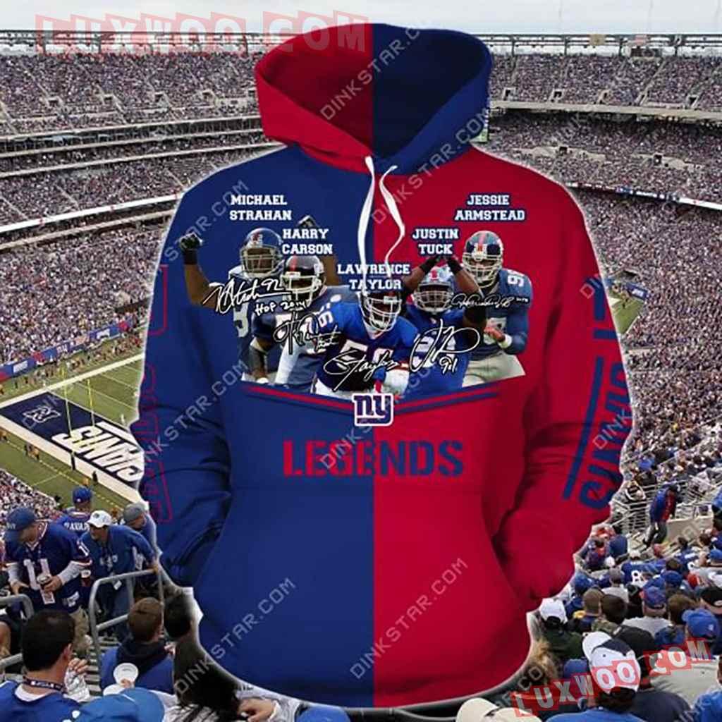 Nfl New York Giants Legends Hoodie 3722