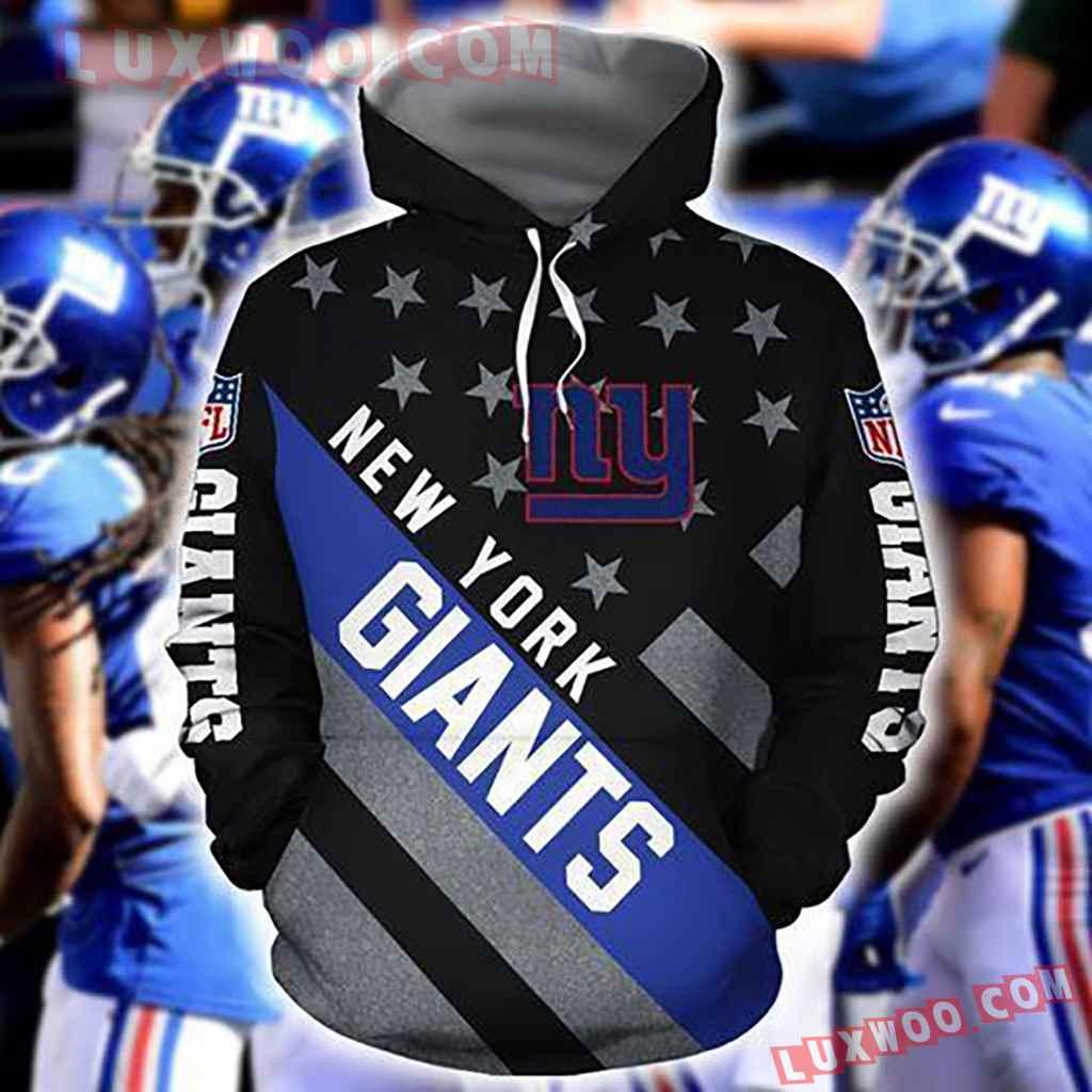 Nfl New York Giants Nlf For Giants Fan 3d Hoodie For Men For Women