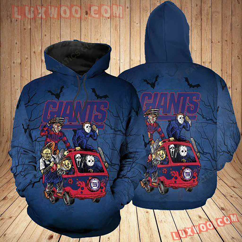 Nfl New York Giants Nygt Hoodie All Over Print Apparel For Nygt3d01100620