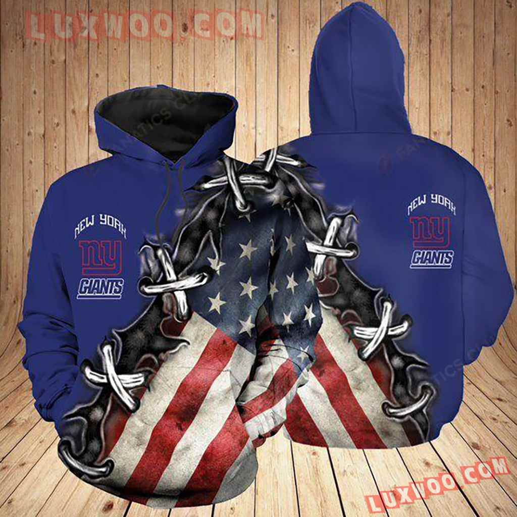 Nfl New York Giants Nygt Hoodie All Over Print Apparel For Nygt3d02120620