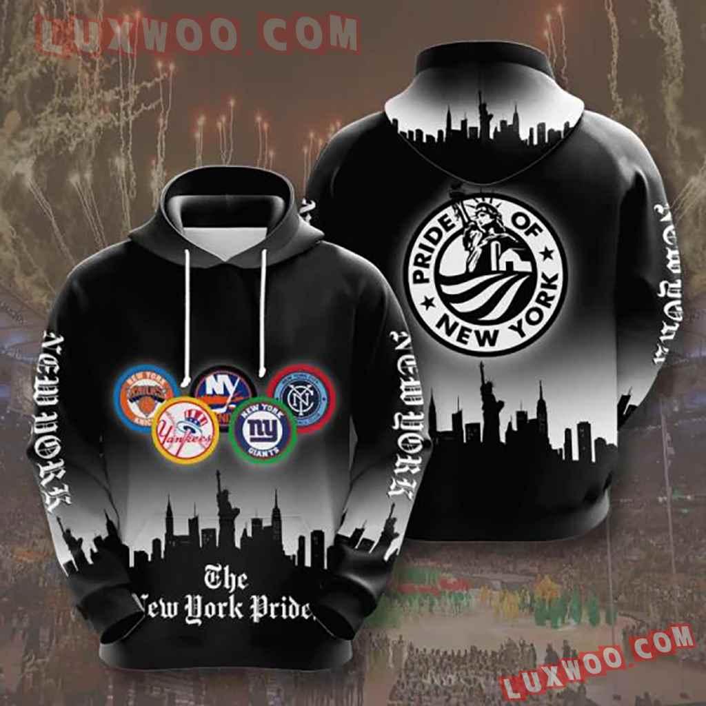 Nfl New York Giants Nyp 3d Hoodie
