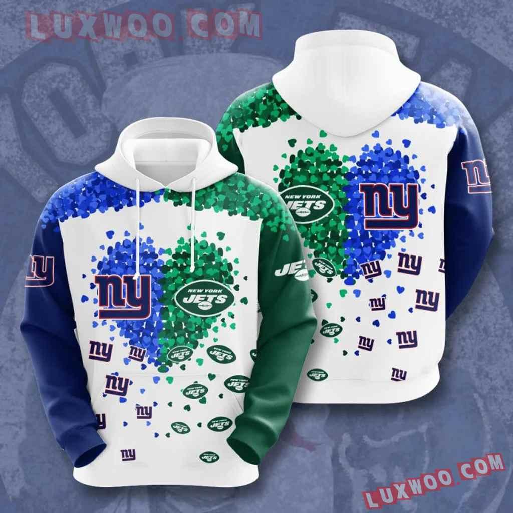 Nfl New York Giants Vs New York Jets 3d Hoodie For Men For Women All O