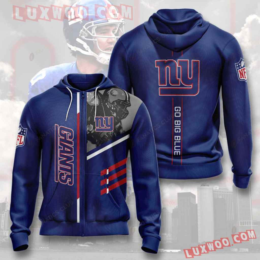 Nfl New York Giants Zip Up Hoodiezip Up Hoodie Will Make A Perfect Gif