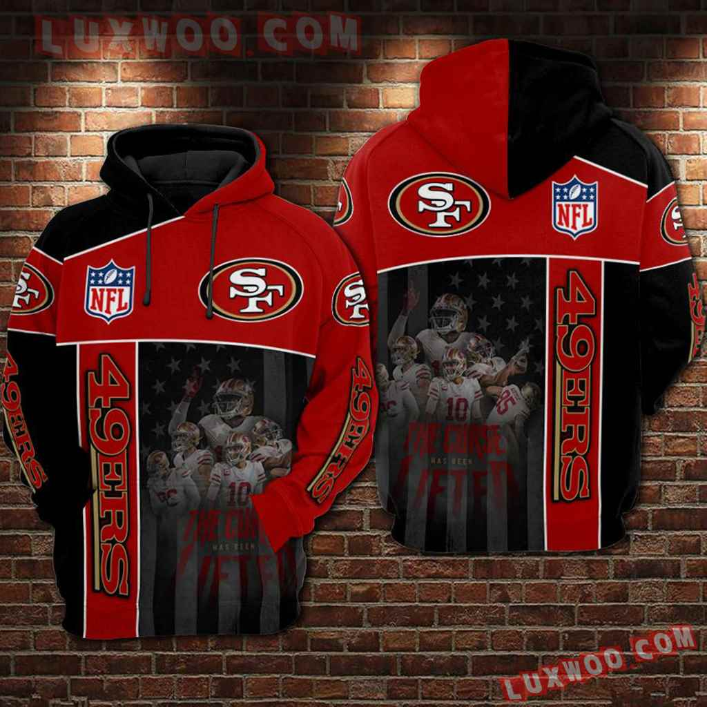 Nfl San Francisco 49ers 3d Hoodie For Men For Women All Over Printed Hoodie 50
