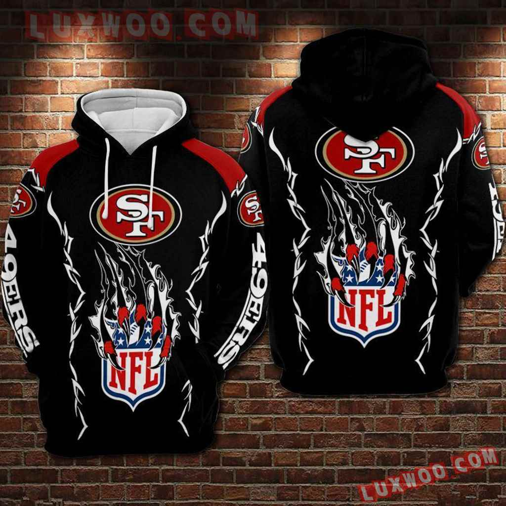 Nfl San Francisco 49ers 3d Hoodie For Men For Women All Over Printed Hoodie