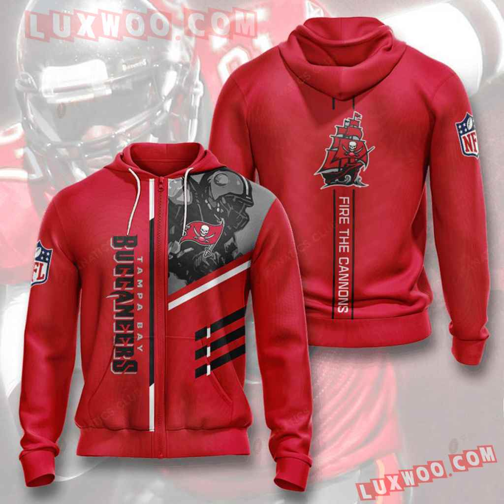 Nfl Tampa Bay Buccaneers Zip Up Hoodiezip Up Hoodie Will Make A Perfec
