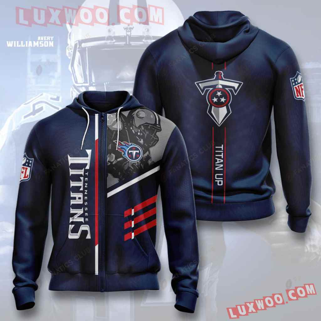 Nfl Tennessee Titans Zip Up Hoodie Will Make A Perfect Gift For Fans T