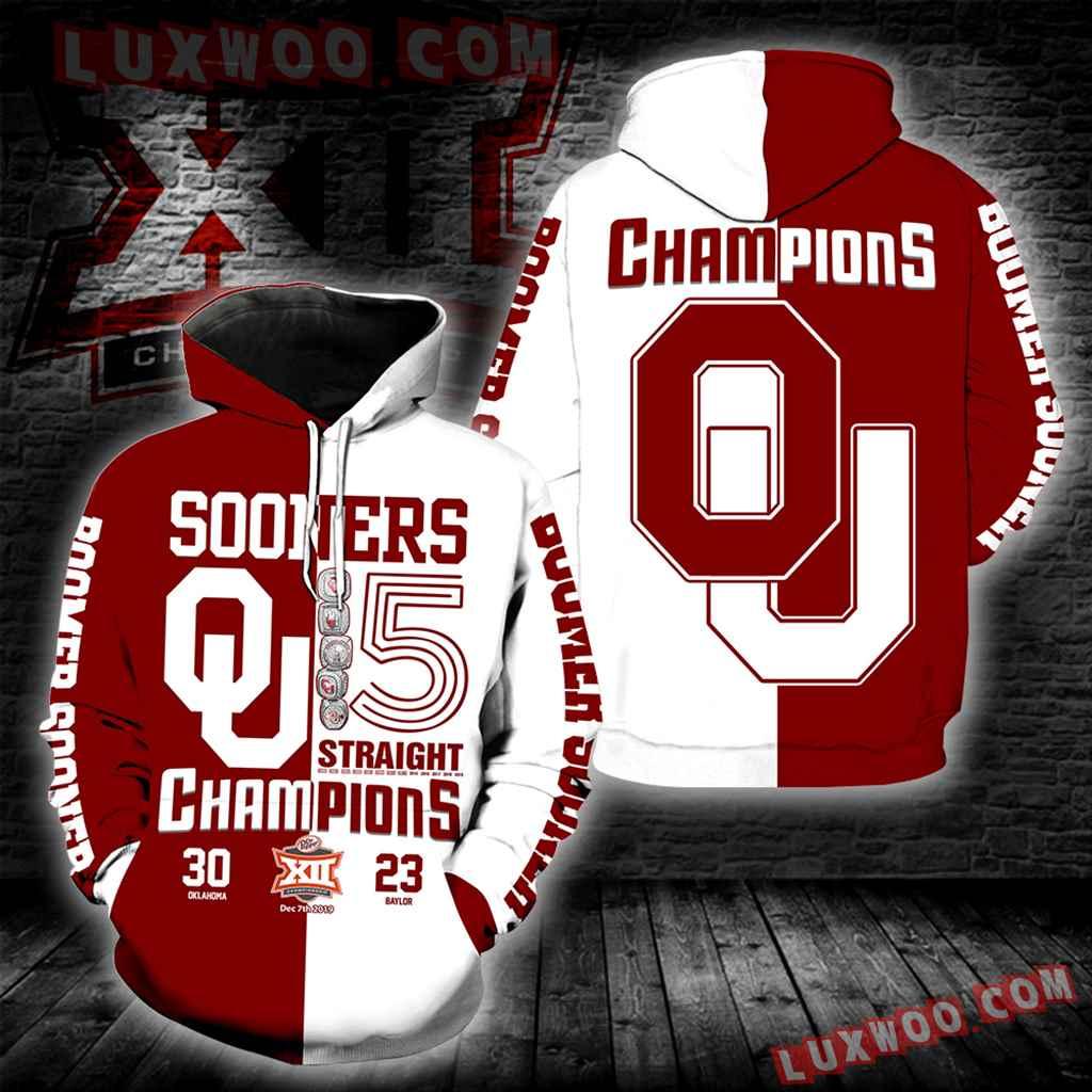 Oklahoma Sooners Champions New Full All Over Print K1236