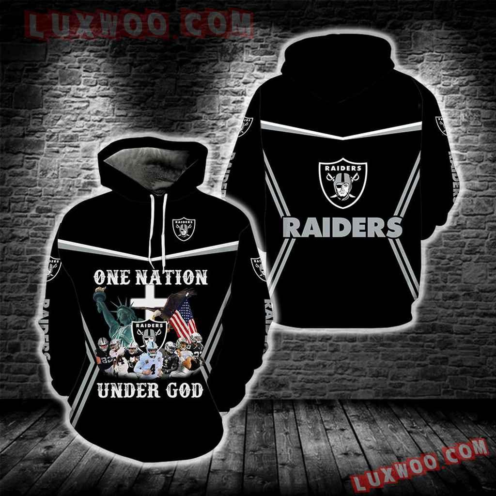 One Nation Under God Las Vegas Raiders New Full All Over Print S1683