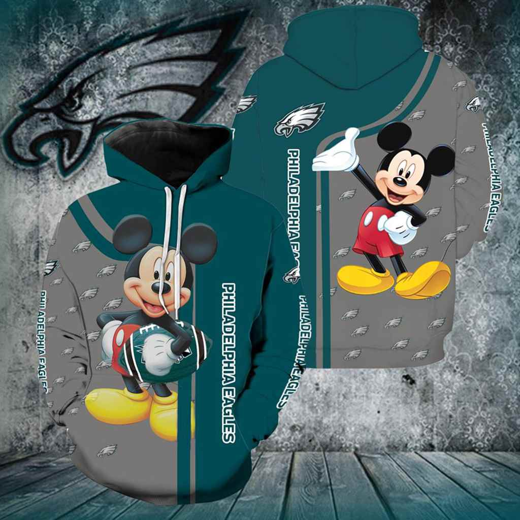 Philadelphia Eagles Mickey Mouse All Over Print K1053