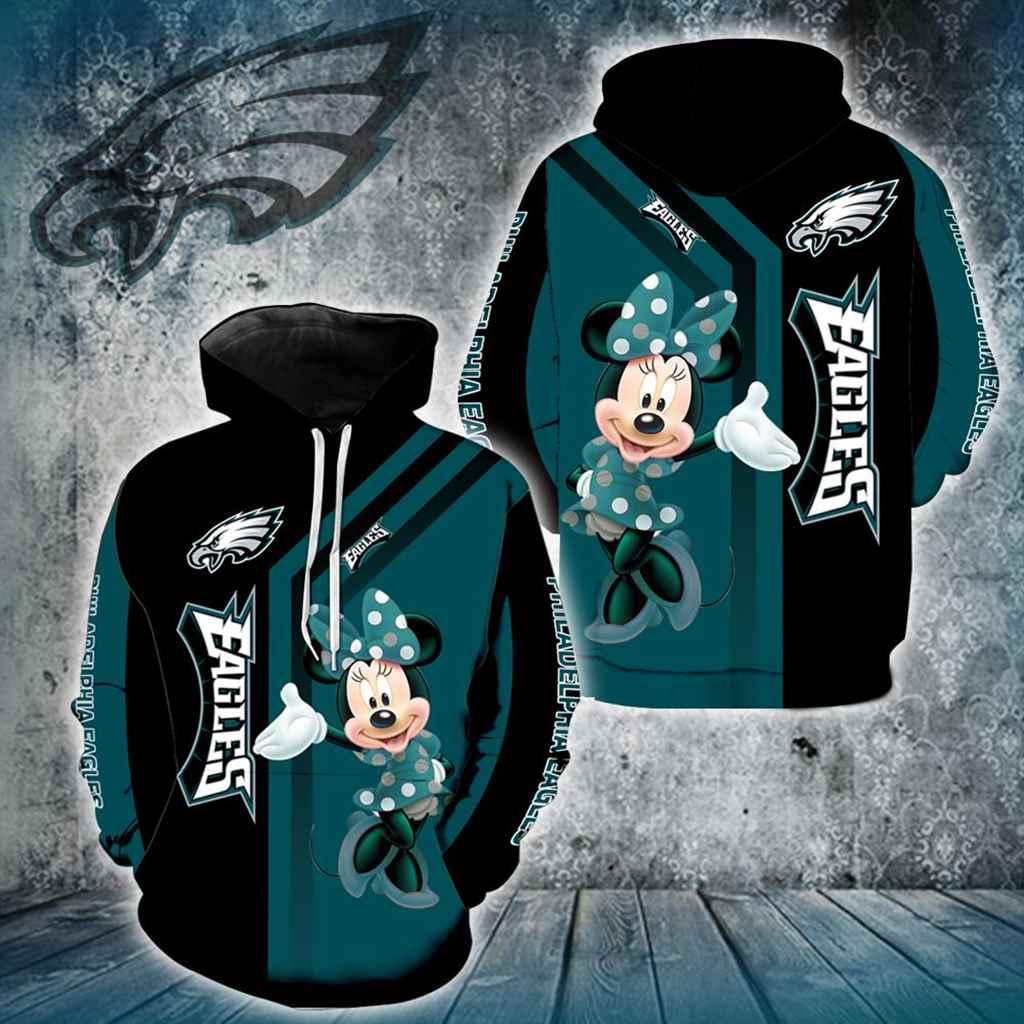 Philadelphia Eagles Minnie Mouse New Full All Over Print V1451