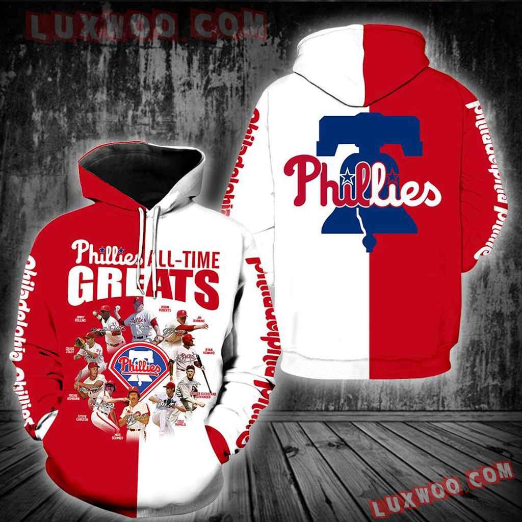 Philadelphia Phillies All Time Greats New Full All Over Print V1428