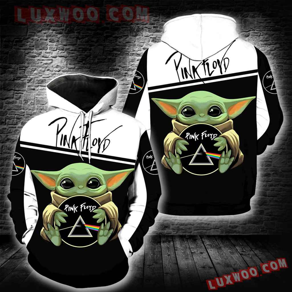 Pink Floyd Baby Yoda New Full All Over Print K1394