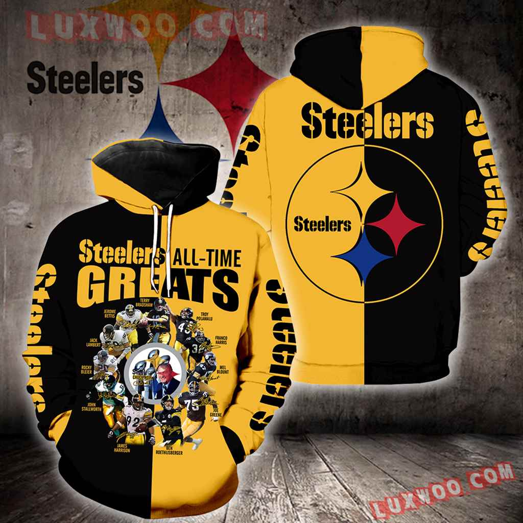 Pittsburgh Steelers All Time Greats Full All Over Print K1179