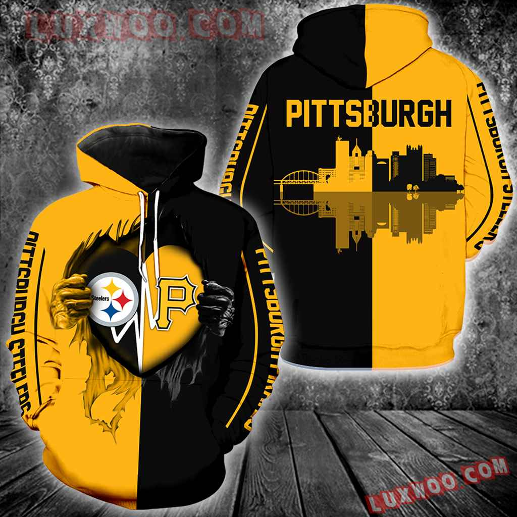 Pittsburgh Steelers And Pittsburgh Pirates All Over Print 1303
