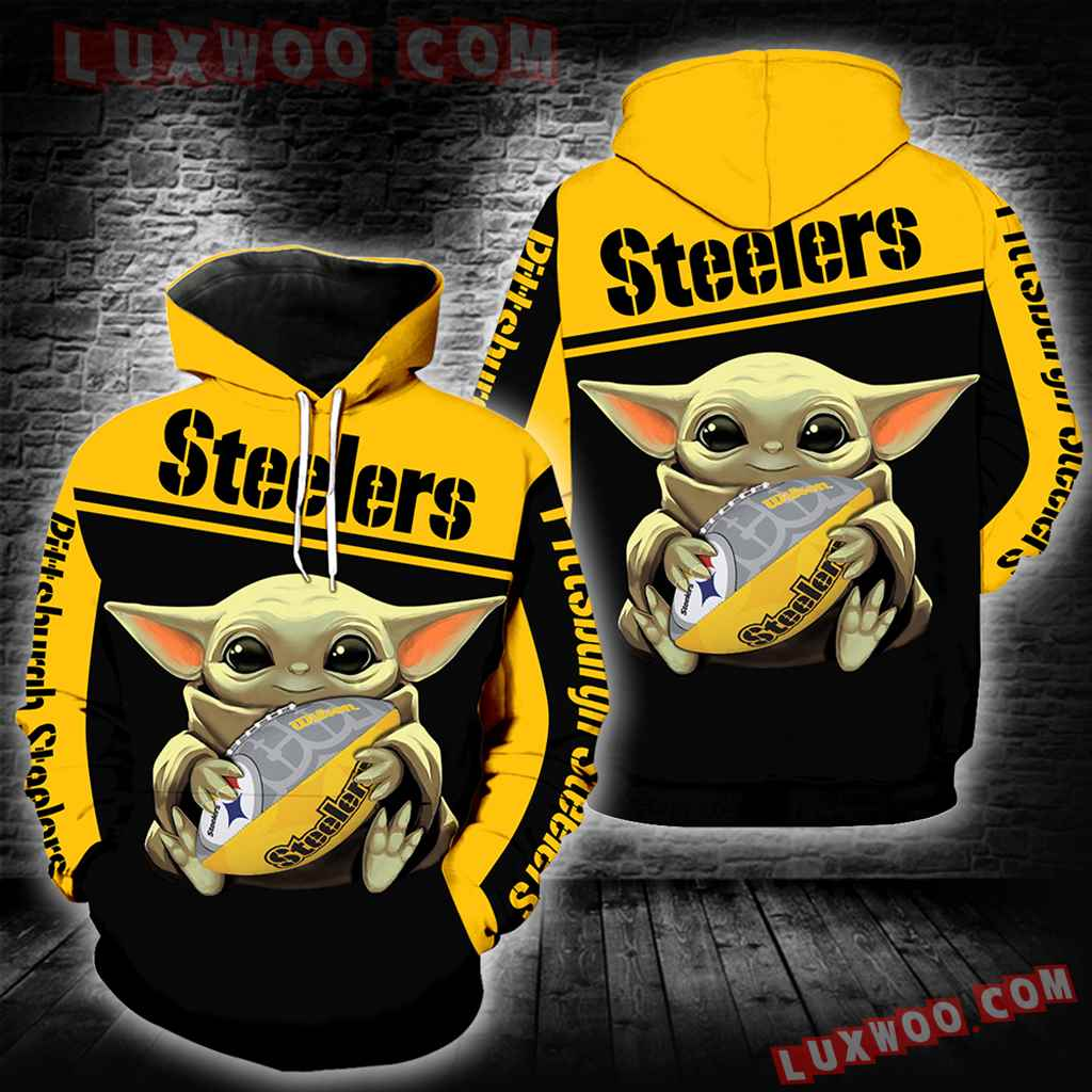Pittsburgh Steelers Baby Yoda New Full All Over Print K1257