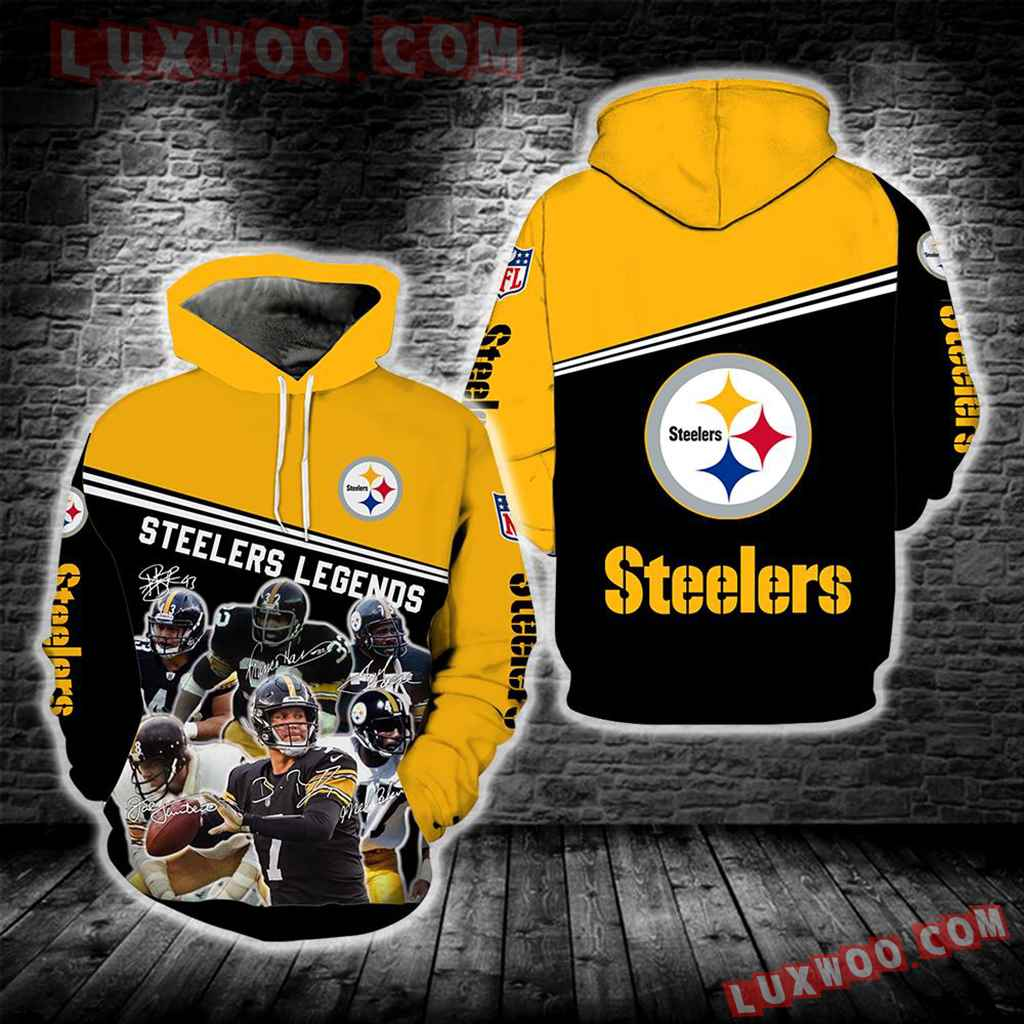 Pittsburgh Steelers Legends New Full All Over Print Ipq2501
