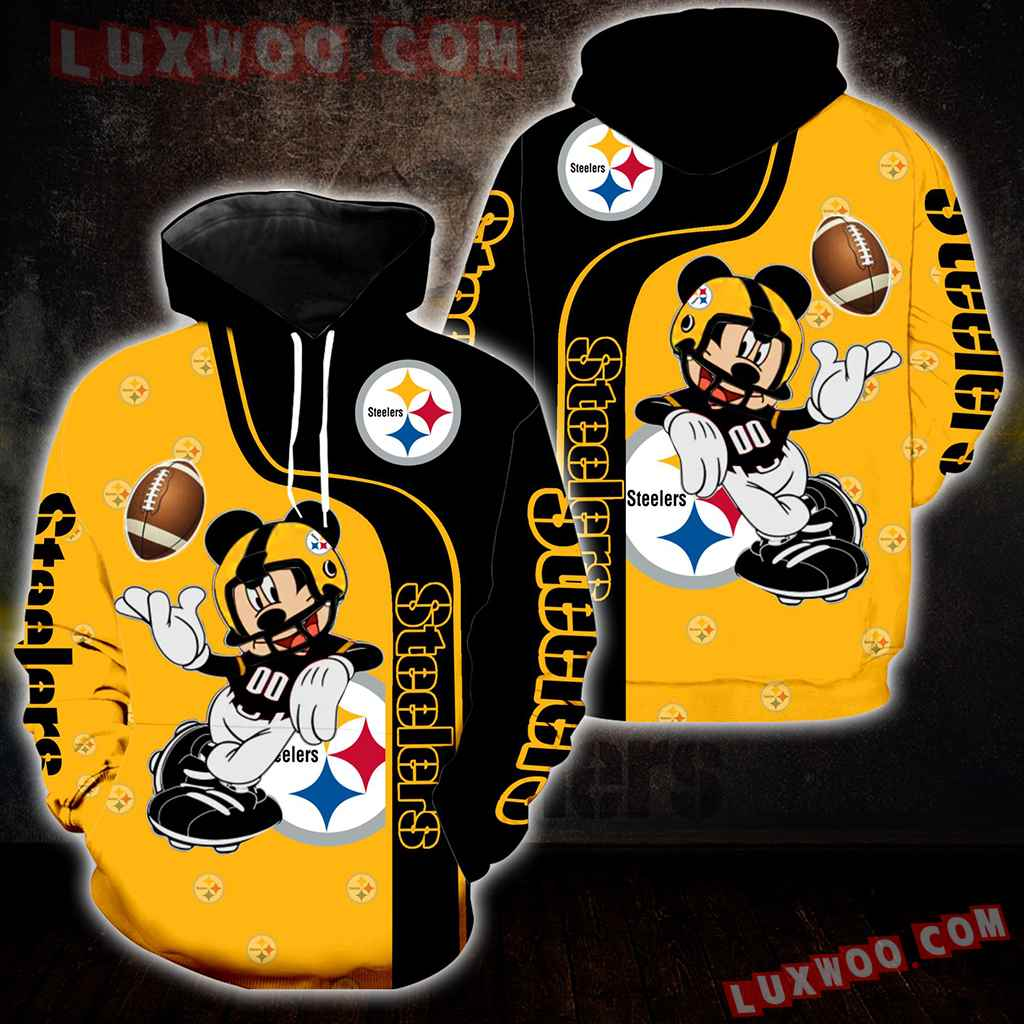 Pittsburgh Steelers Mickey Mouse New Full All Over Print S1269