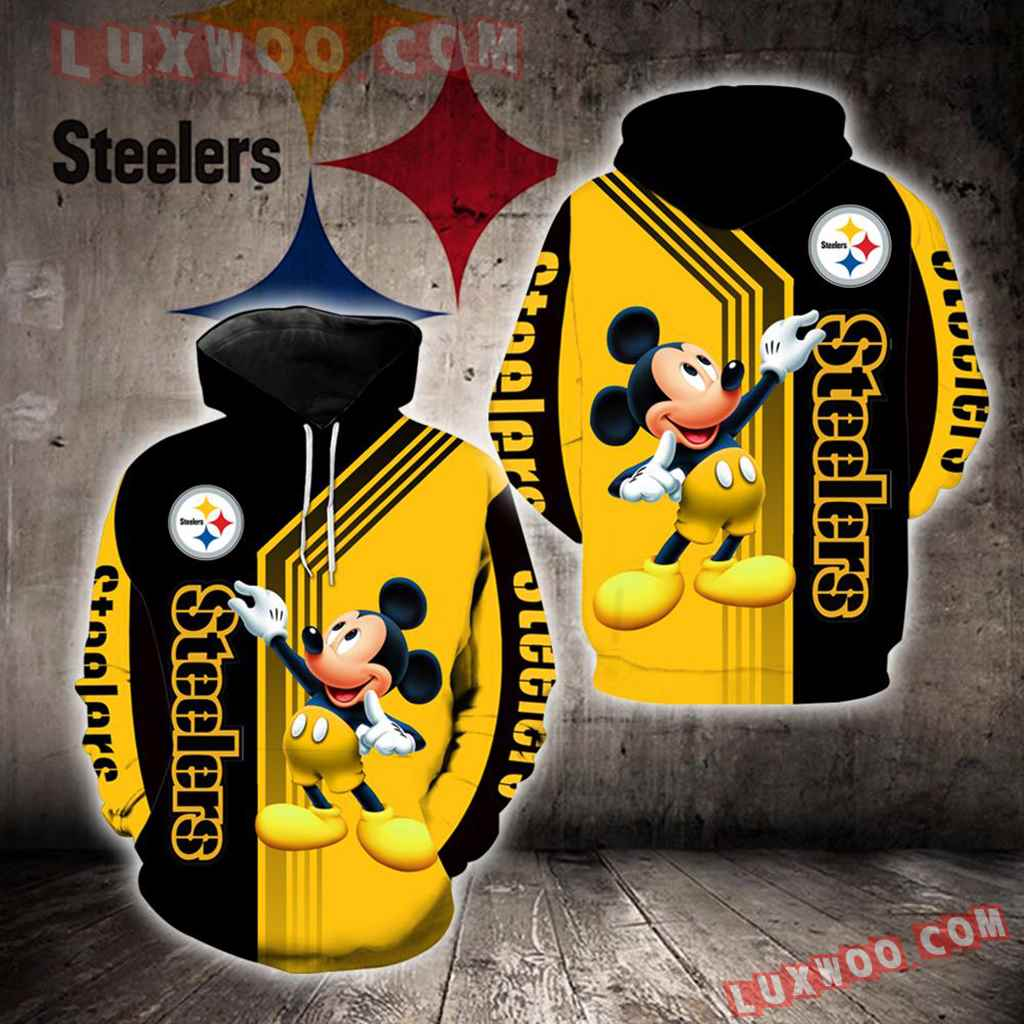 Pittsburgh Steelers Mickey Mouse New Full All Over Print V1474