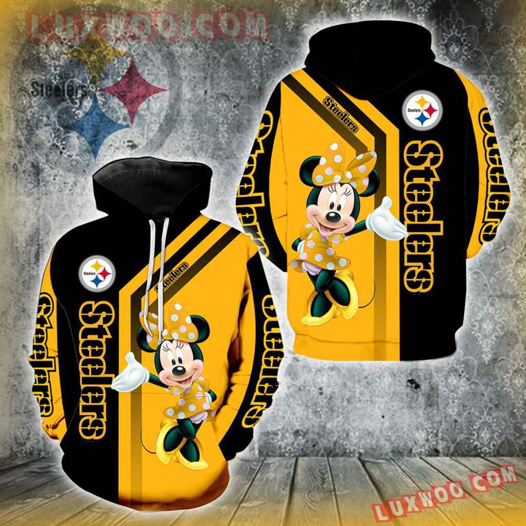 Pittsburgh Steelers Minnie Mouse New Full All Over Print V1436