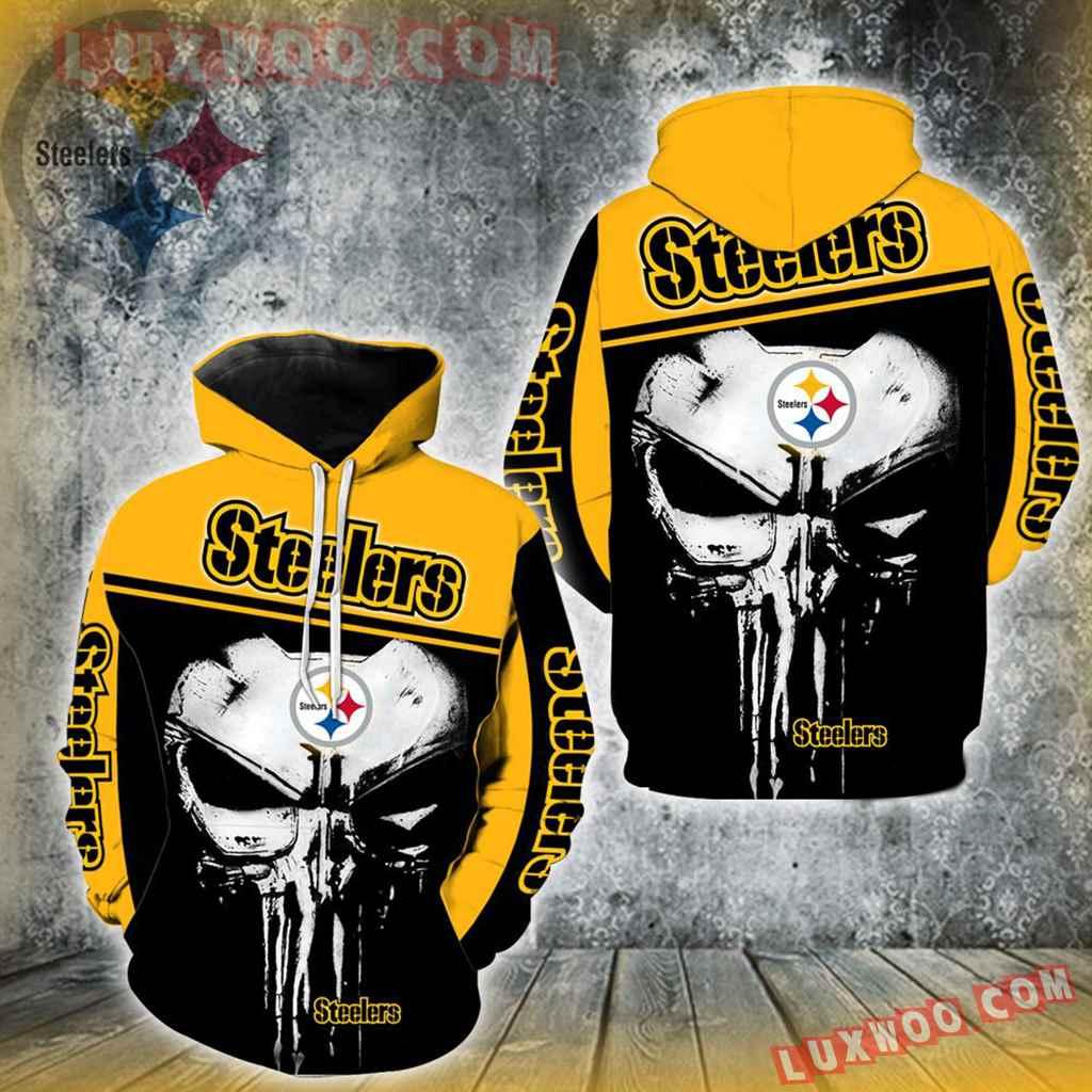 Pittsburgh Steelers Punisher New Skull Full All Over Print K1216