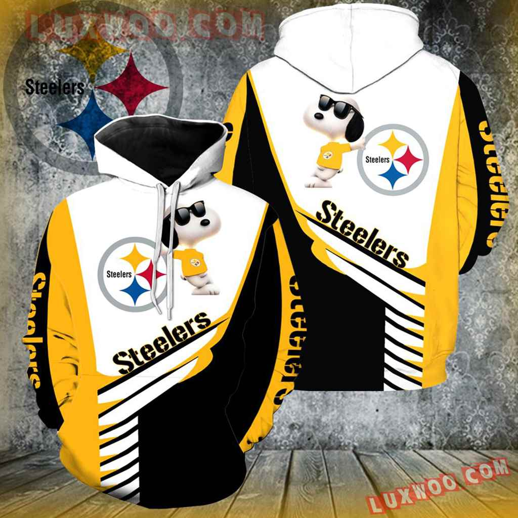 Pittsburgh Steelers Snoopy New All Over Print K1012