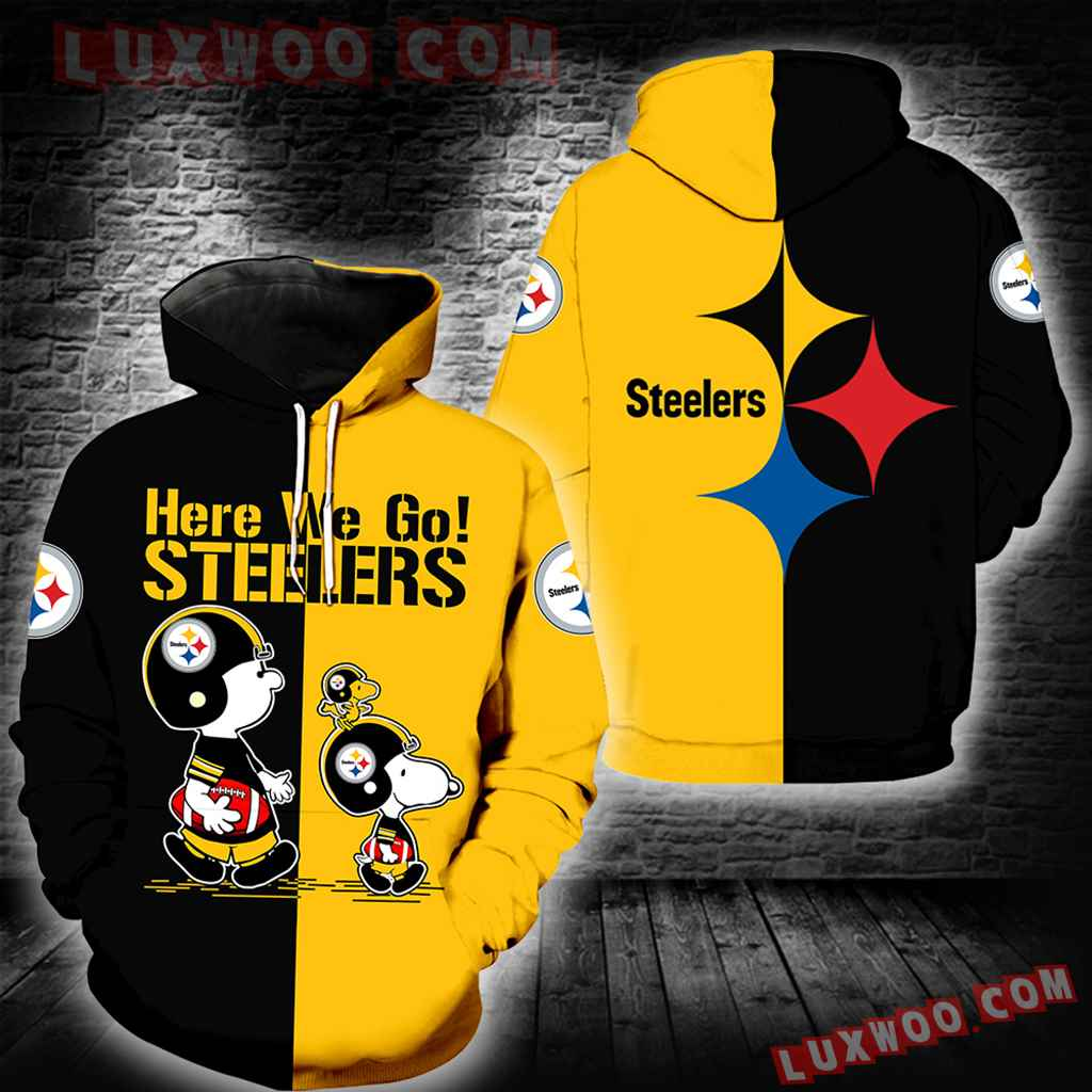 Pittsburgh Steelers Snoopy New Full All Over Print K1331