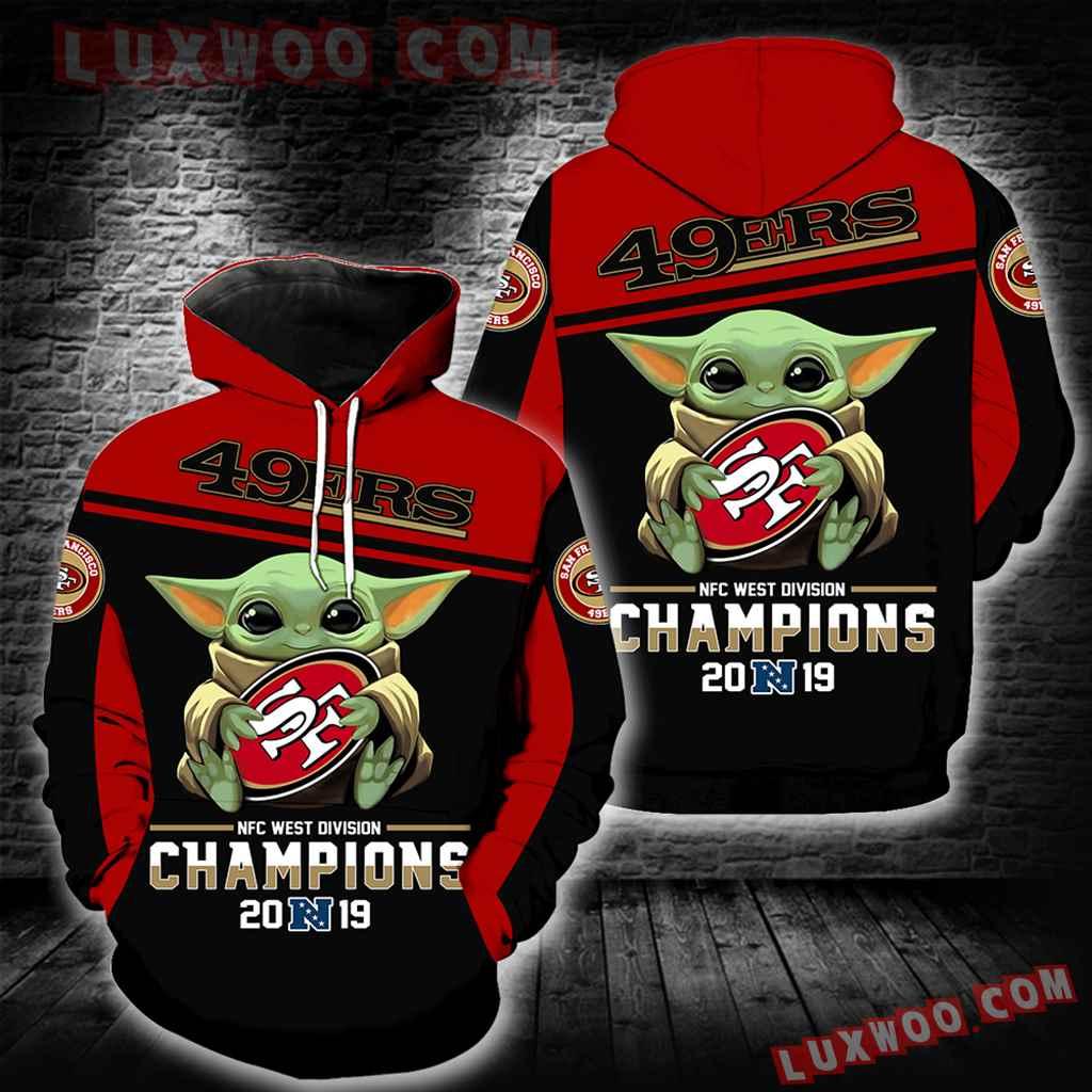 San Francisco 49ers Champions 2019 Baby Yoda New Full All Over Print V1566