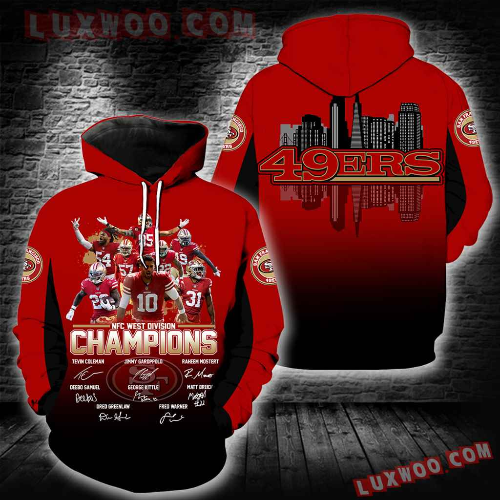 San Francisco 49ers Champions New Full All Over Print K1398