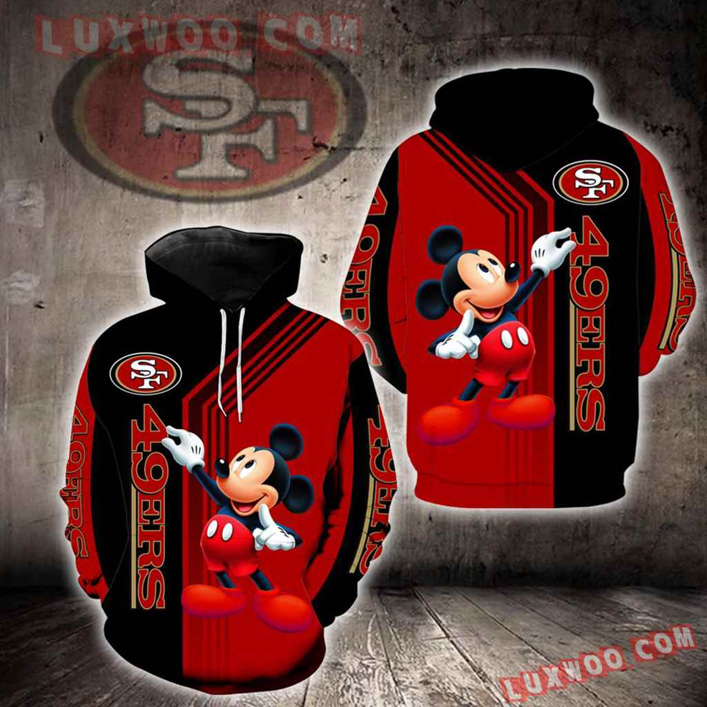San Francisco 49ers Mickey Mouse New Full All Over Print V1476