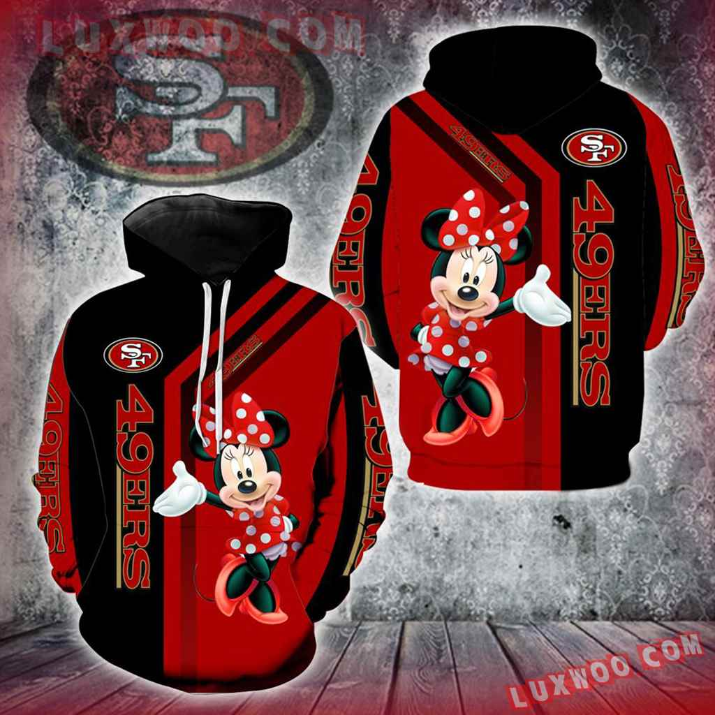 San Francisco 49ers Minnie Mouse New Full All Over Print V1450