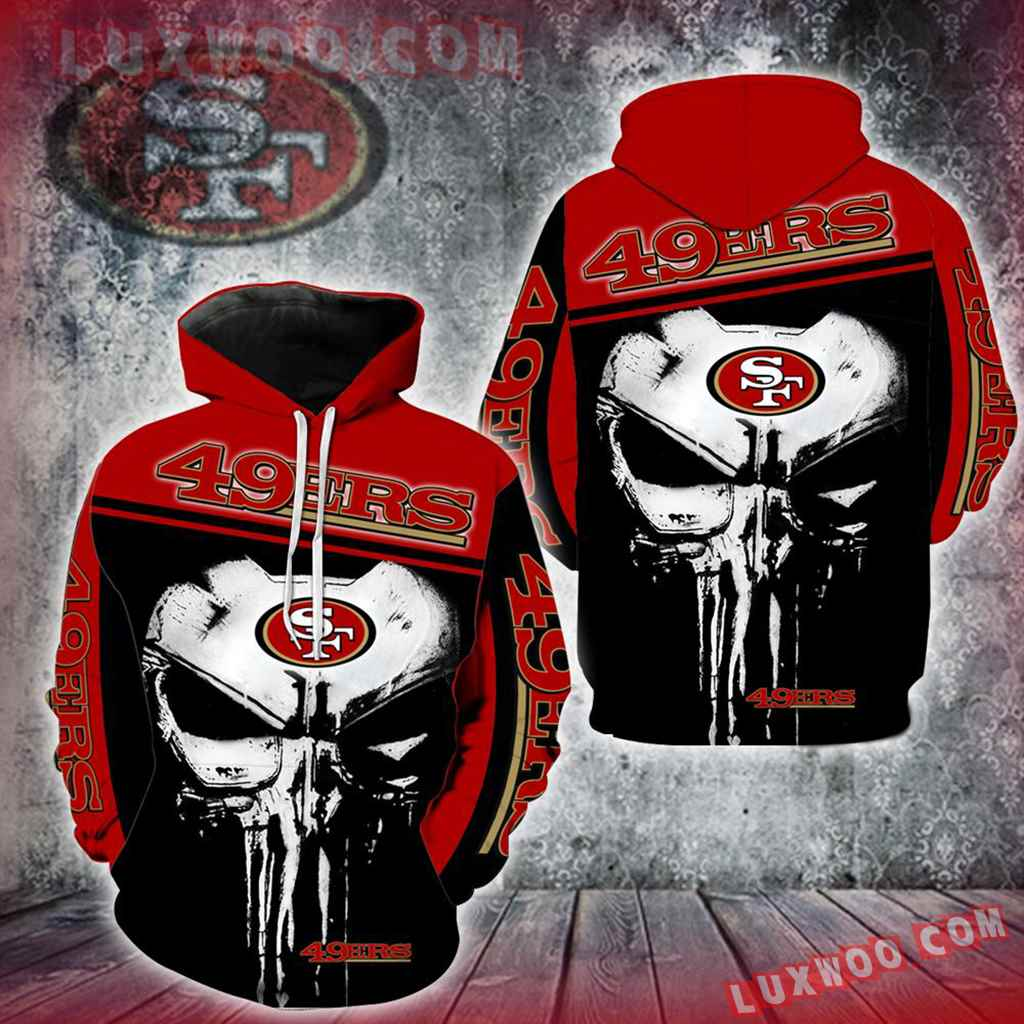 San Francisco 49ers Punisher New Skull Full All Over Print K1213