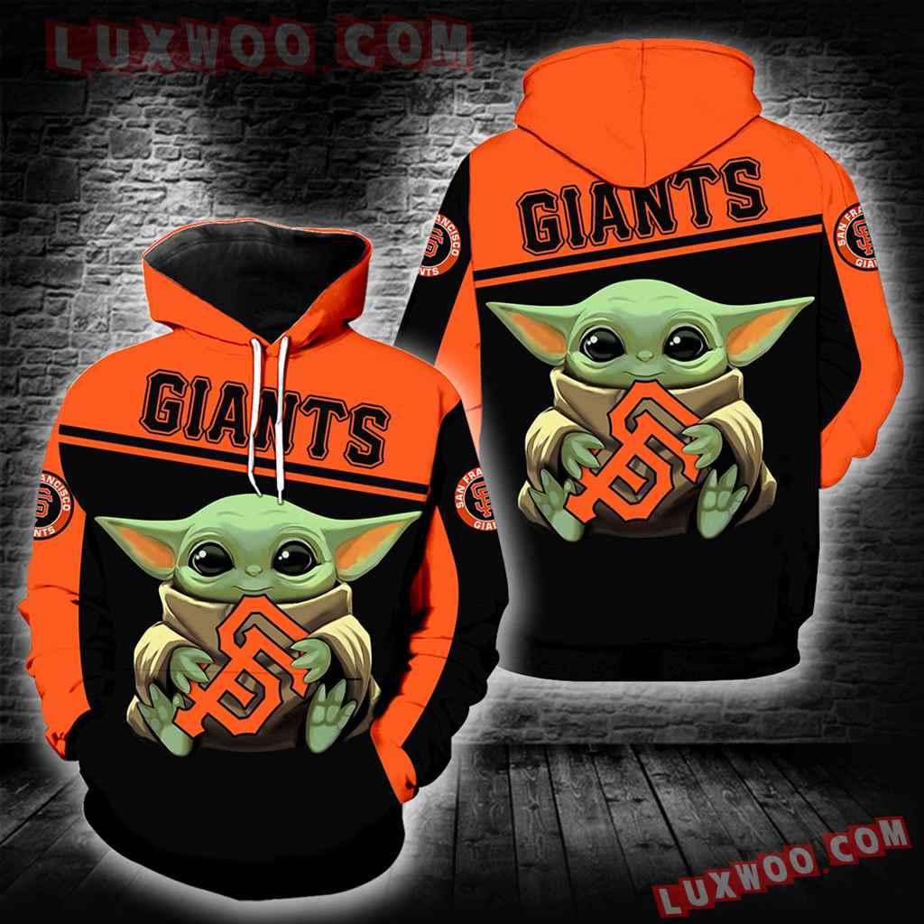 San Francisco Giants Baby Yoda New Full All Over Print K1332