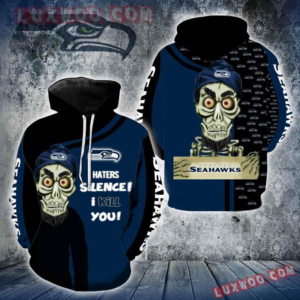 Seattle Seahawks Achmed New Skull Full All Over Print K1212