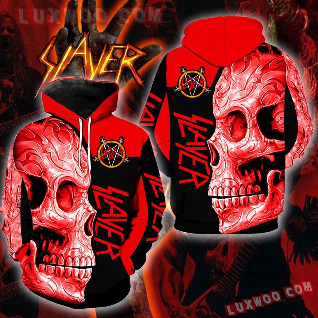 Slayer Skull New Full Over Print K1149