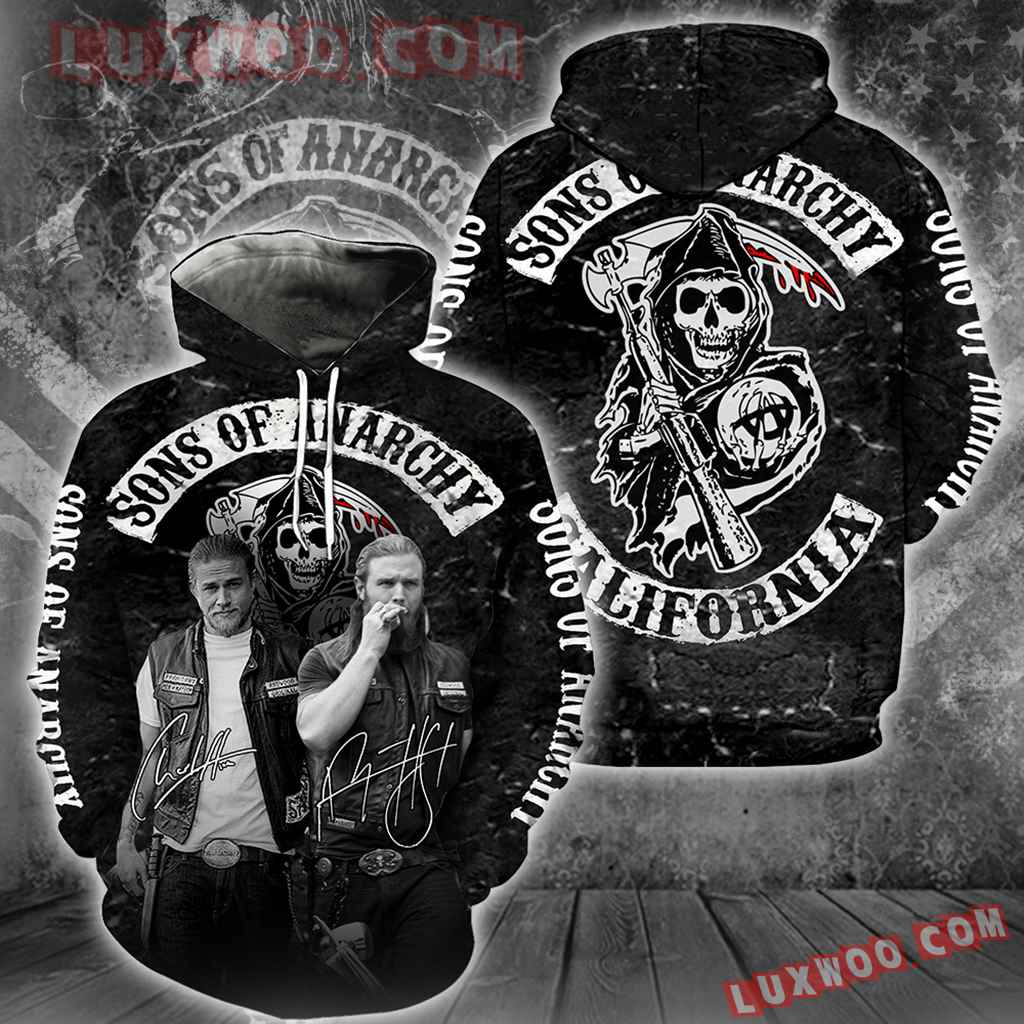 Sons Of Anarchy New Full All Over Print S1279