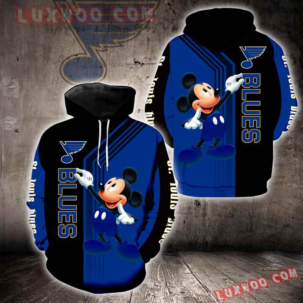 St Louis Blues Mickey Mouse New Full All Over Print V1510