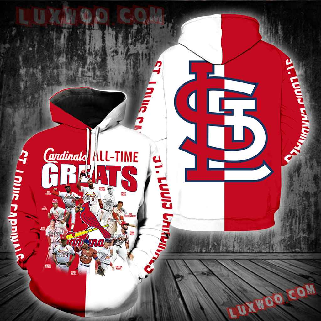 St Louis Cardinals All Time Greats New Full All Over Print K1226