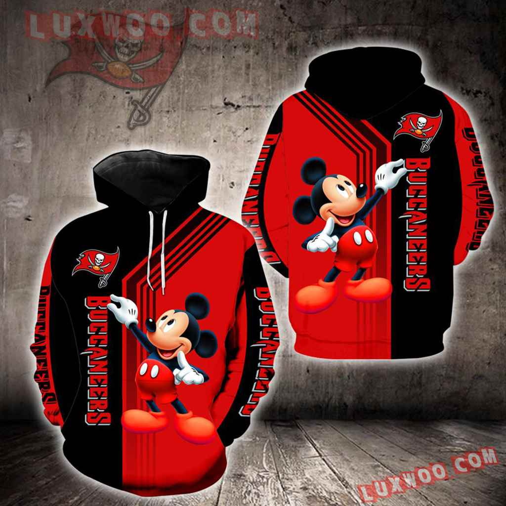 Tampa Bay Buccaneers Mickey Mouse New Full All Over Print K1241