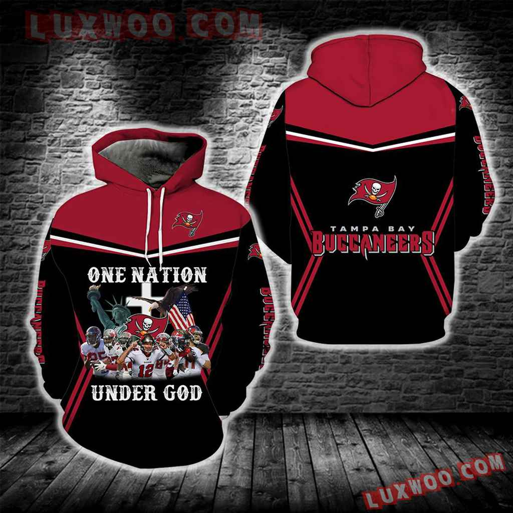 Tampa Bay Buccaneers One Nation Under God New Full All Over Print S1695