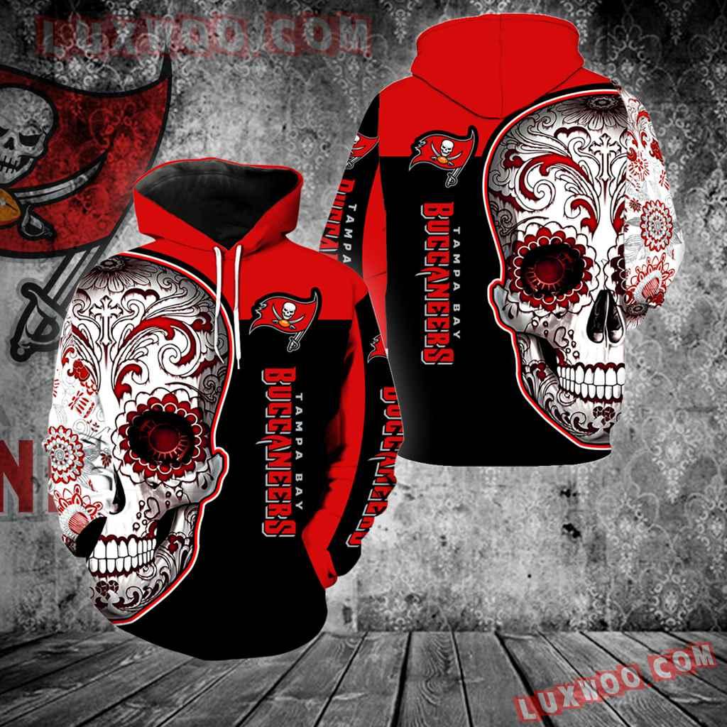 Tampa Bay Buccaneers Skull Full Over Print K1097